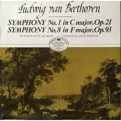 Ludwig van Beethoven - Symphony No. 1 In C Major, Op 21 - Symphony No. 8 In F Major, Op 93