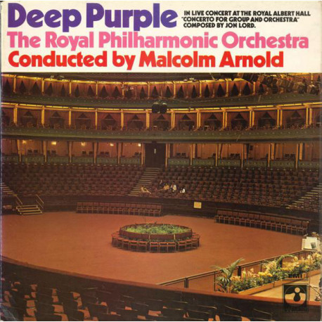 Deep Purple & The Royal Philharmonic Orchestra, Malcolm Arnold ‎– Concerto For Group And Orchestra