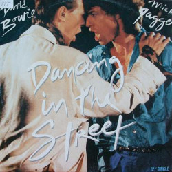 David Bowie and Mick Jagger ‎– Dancing In The Street