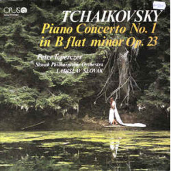Tchaikovsky, Peter Toperczer, Slovak Philharmonic Orchestra, Ladislav Slovák – Piano Concerto No. 1 In B Flat Minor Op. 23