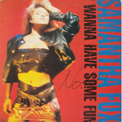 Samantha Fox ‎– I Wanna Have Some Fun