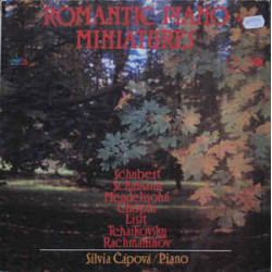 Silvia Čápová – Romantic Piano Miniatures