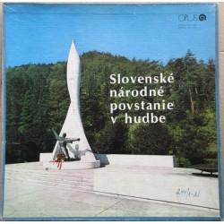 Slovenské Národné Povstanie V Hudbe Label:
