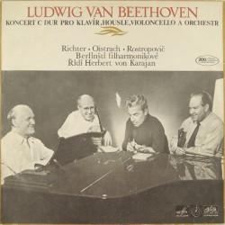Ludwig Van Beethoven -  Koncert C Dur Pro Klavír, Housle, Violoncello A Orchestr