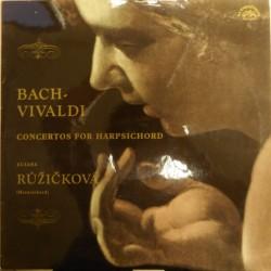 J. S. Bach - Antonio Vivaldi, Zuzana Růžičková – Bach - Vivaldi. Concertos For Harpsichord
