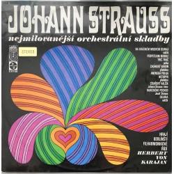 Johann Strauss hrají Berlínští Filharmonikové řídí Herbert von Karajan – Nejmilovanější Orchestrální Skladby