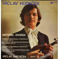 Václav Hudeček - Konzert Pro Housle A Orchestr A Moll, Op. 53
